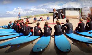 surfles op summer surfcamp