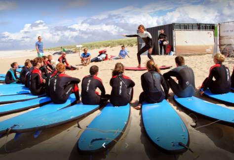 surfles op summer surfcamp